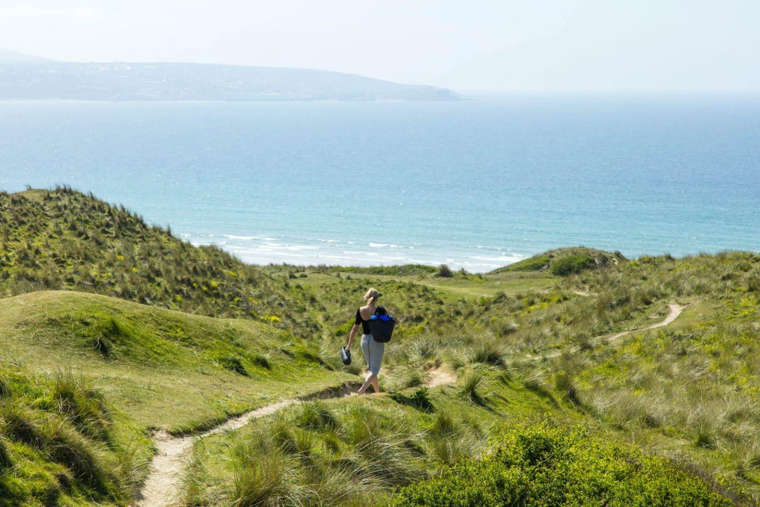 Walking the coast path
