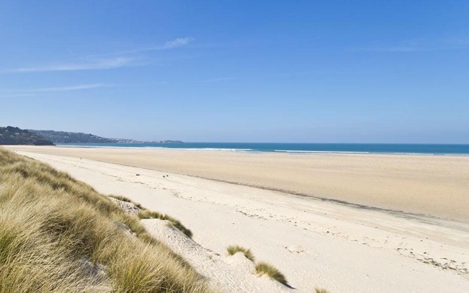 Porthkidney Beach in West Cornwall