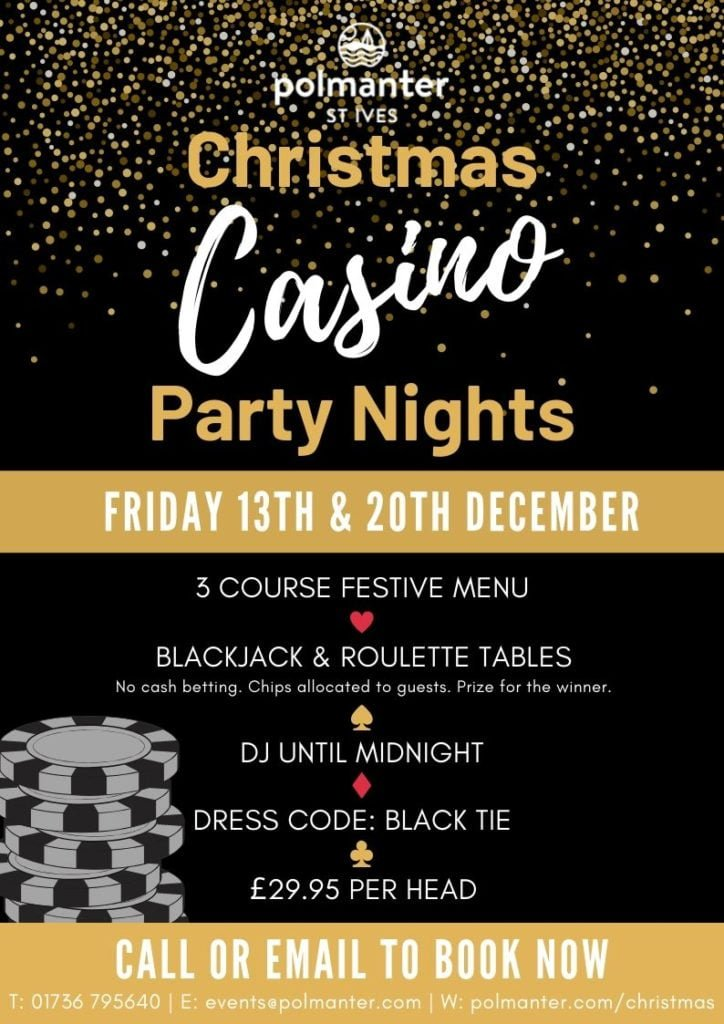 Polmanter Christmas Casino Party Nights 2019