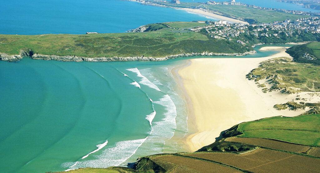 Cornish beaches: Crantock