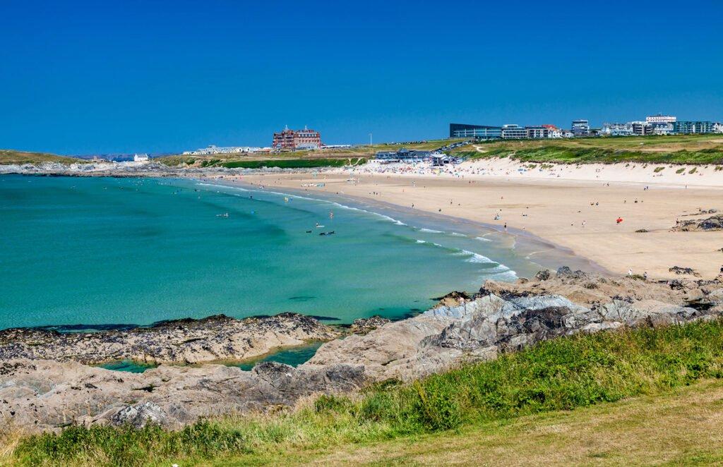 Cornish beaches: Fistral Bay Beach