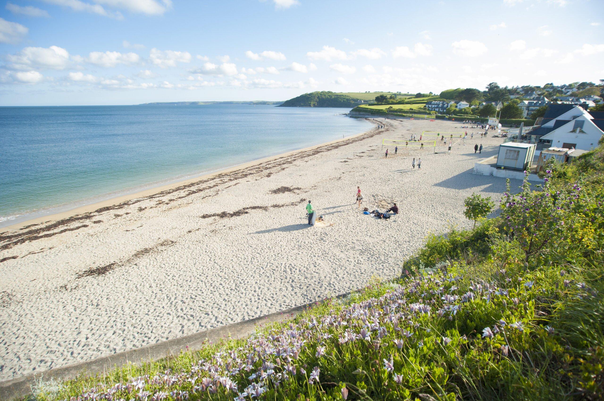 Cornish beaches: Gyllyngvase Beach