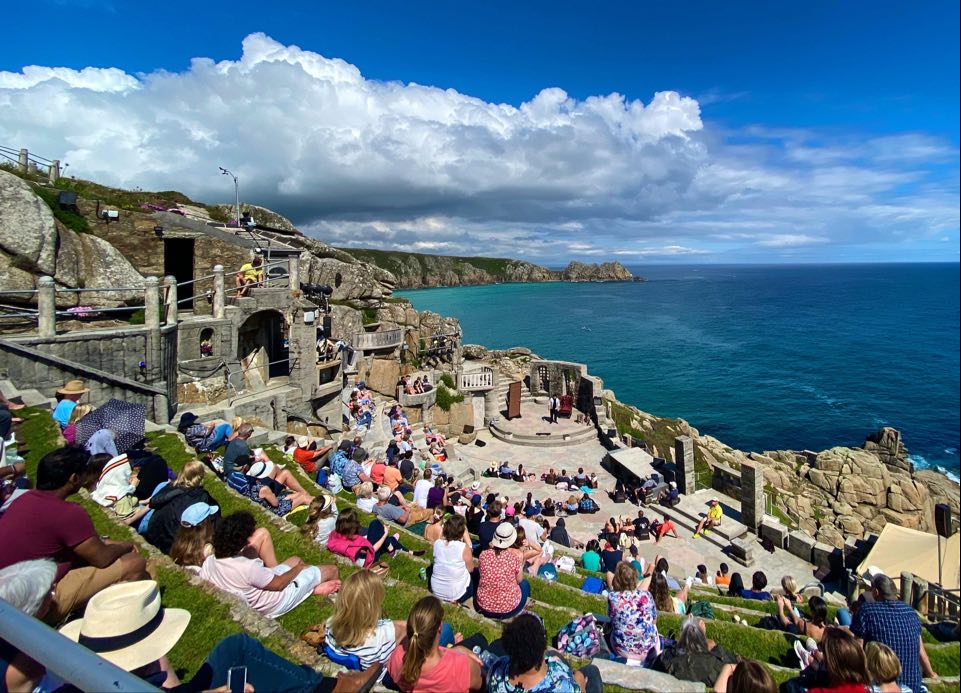 Minack Theatre in St Ives