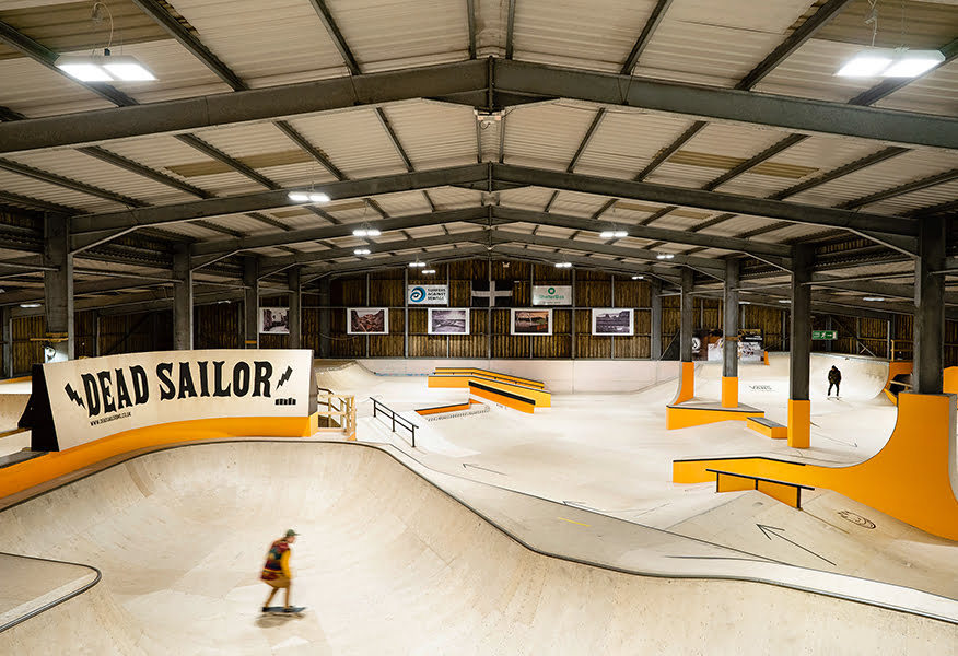 Mount Hawke Skatepark, Cornwall