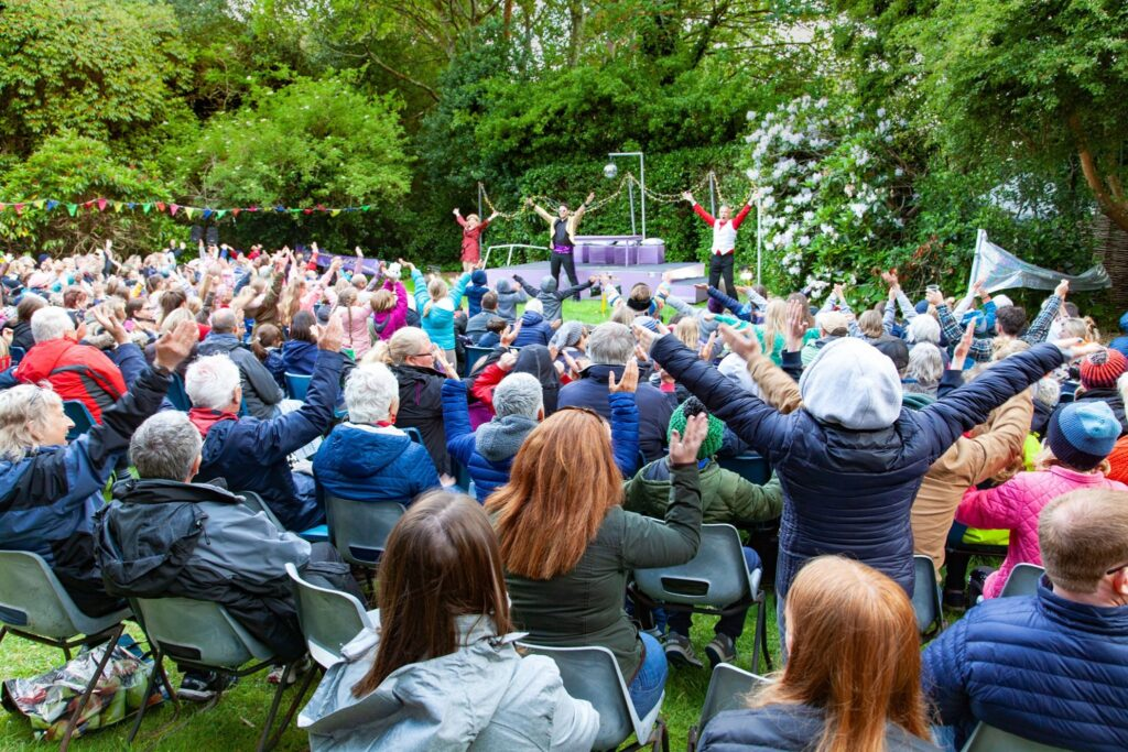 Penlee Park Open Air Theatre in St Ives