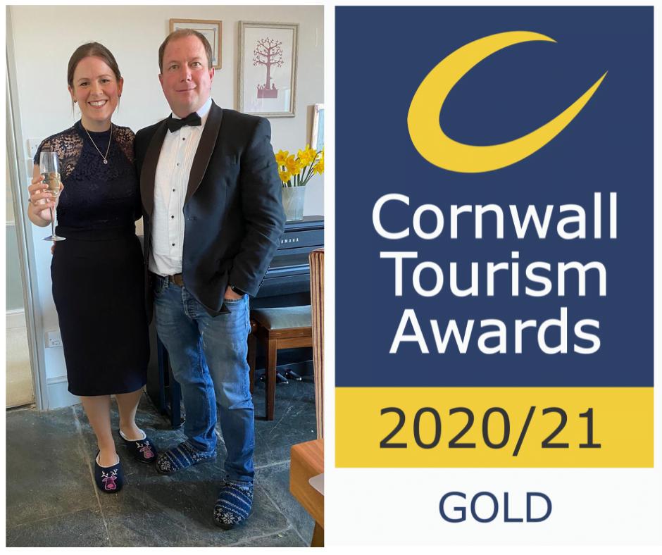 Polmanter Touring Park attend the virtual Cornwall Tourism Awards