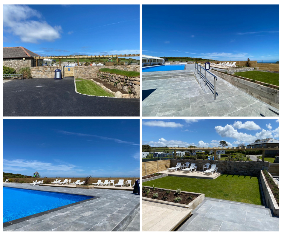 Polmanter Touring Park newly renovated swimming pool