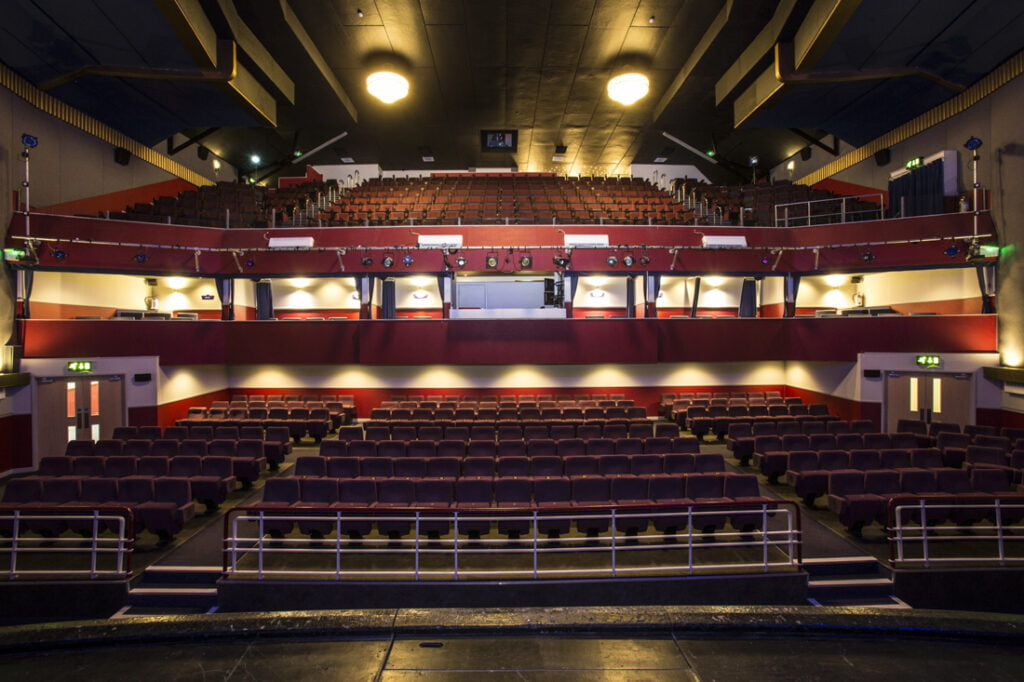 Inside of the Regal Theatre in Redruth