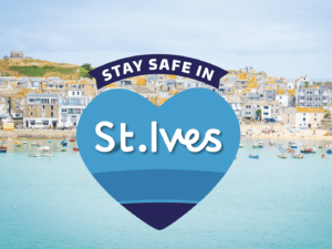 Stay safe during the coronavirus in st ives leaflet