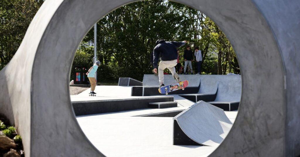 St Ives Skatepark, Cornwall