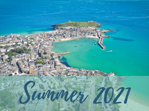 Summer 2021 in self catering accommodation St Ives