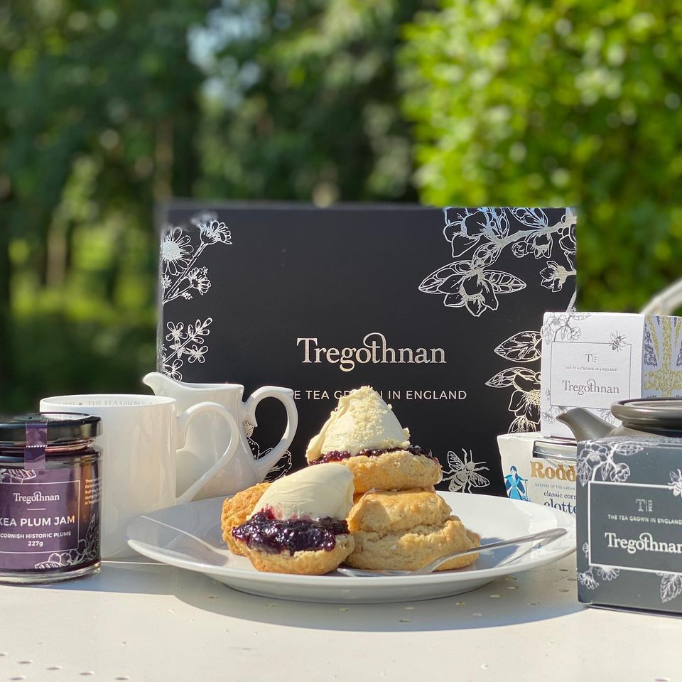 Tregothnan Tea with Cornish produce