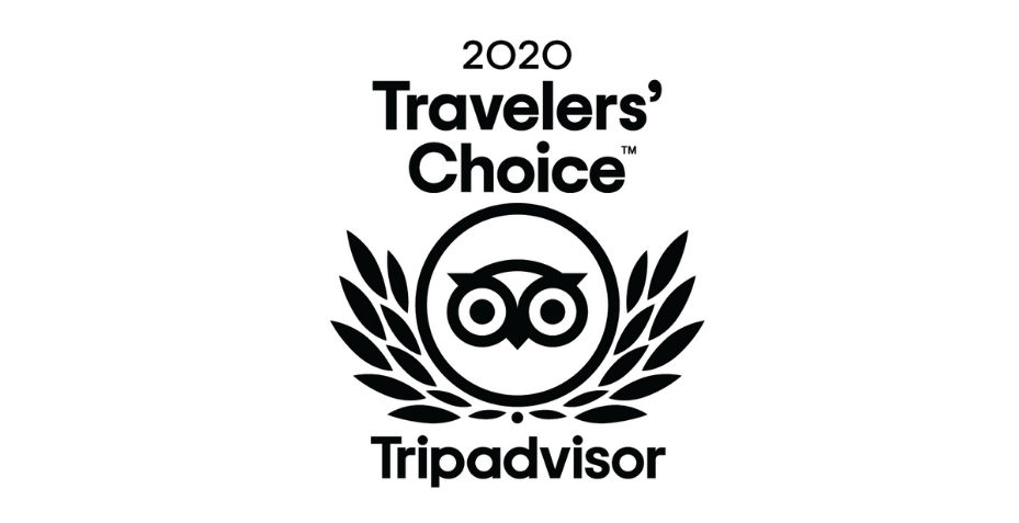 Tripadvisor Travellers' Choice Award won by Polmanter Touring Park