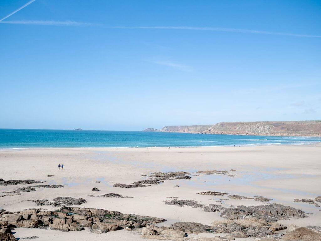 Sennen Beach in West Cornwall
