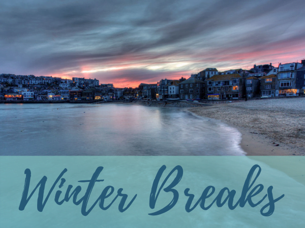 Winter breaks in self catering accommodation St Ives