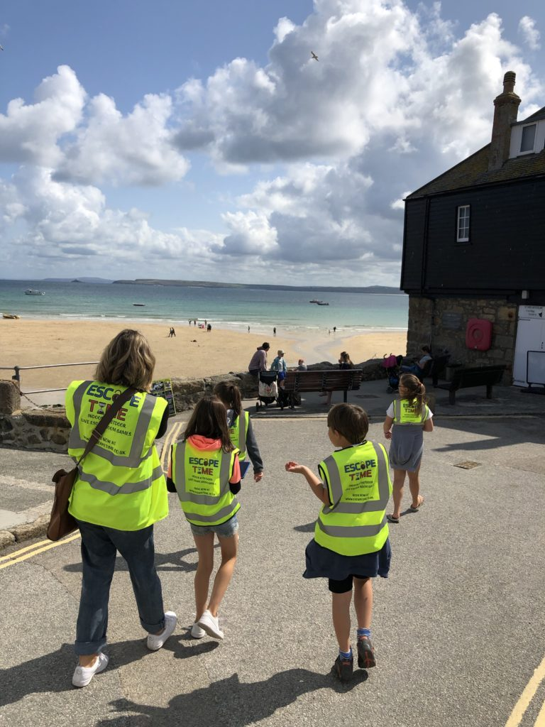 Outdoor puzzle games St Ives