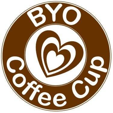 BYO Coffee Cup logo