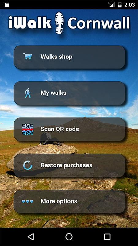 Apps for Cornwall: iWalk Cornwall
