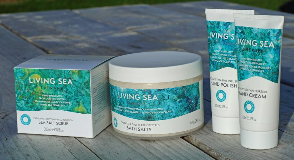 Living Sea Therapy Cornish products