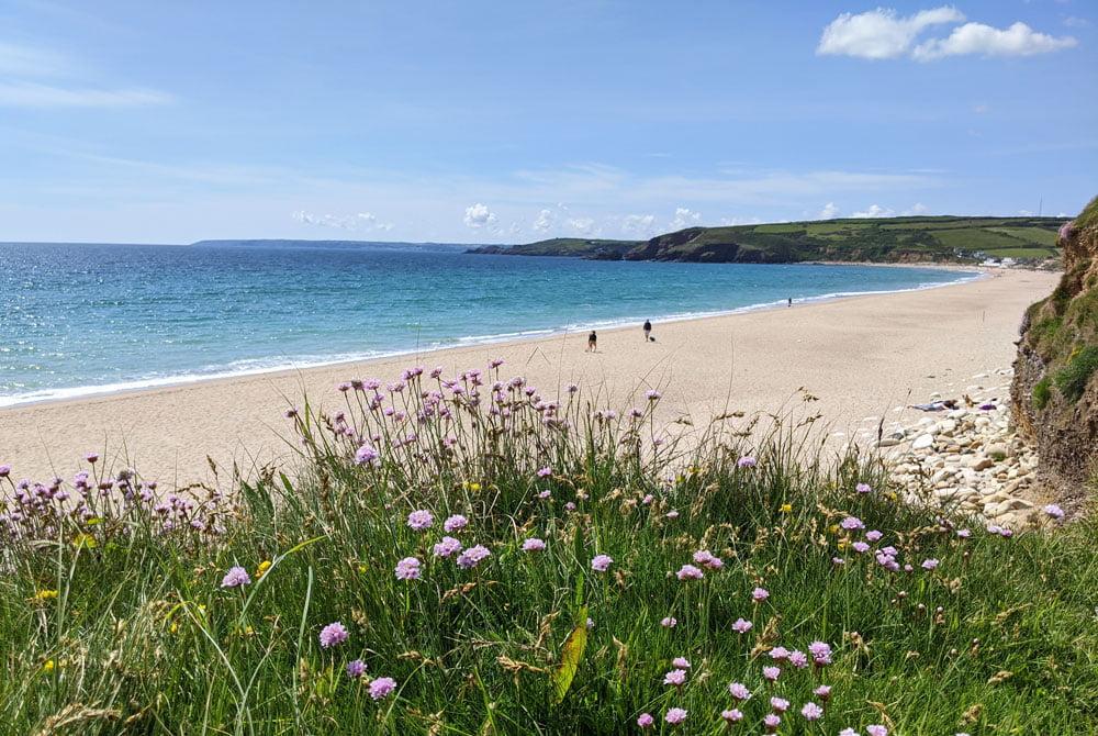 Cornish beaches: Praa Sands